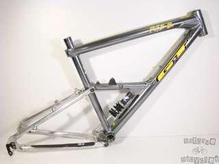 18 Inch GT RTS 2 Full Suspension XC Mountain Bike Frame Nice