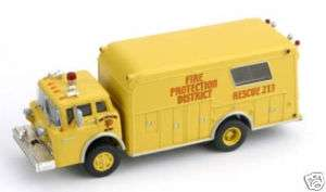 HO Scale Ford Fire Rescue Truck   FPD # 213   Athearn |