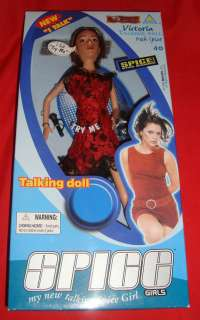 NiB Spice Girl Talking Dolls Collection