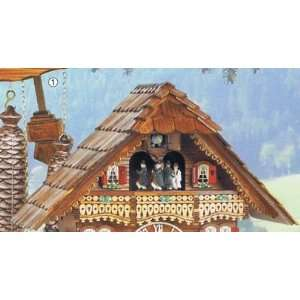 Schneider Cuckoo Clock, Black Forest, Wood chopper, Model