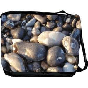 Rikki KnightTM Pebbles Design Messenger Bag   Book Bag