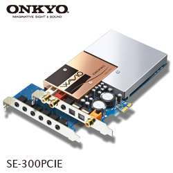 SE 300PCIE High End 7.1ch Digital Audio PCI Express Sound Card