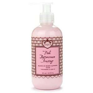 Jaqua Pink Buttercream Frosting Hand & Body Lotion   8.5