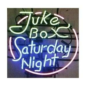 Vintage Jukebox Saturday Night Neon Sign