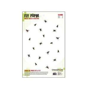 Champion Precision Fly Paper Target, 11x17, 25ct