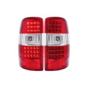 Anzo USA 311100 Chevrolet/GMC Yukon Denali G2 Red/Clear LED Tail Light