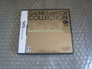 Game & Watch Collection Nintendo DS Japan