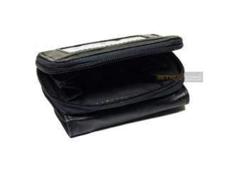 zip round ID window on the back wallet change / coin pocket