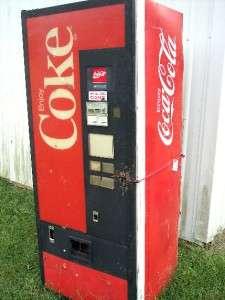 Cavalier Coca Cola Coke Soda Pop Vending Machine      AS IS