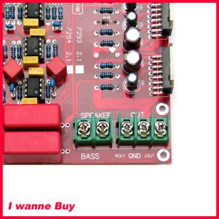 Brand New TDA7294 2.1 Power amplifier board 80W x 2 + 160W Subwoofer