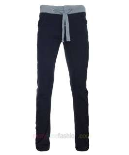 MENS CUFFED DENIM JEANS JOGGERS CHINOS CARGO PANTS NAVY TOBACCO SIZES