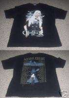 CHER Living Proof farewell tour 2002 Concert Shirt