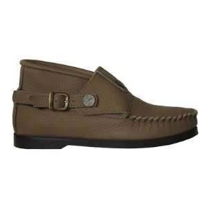 com Footskins 1835   Taupe Womens Cowhide Buckle Chukka Boots Baby