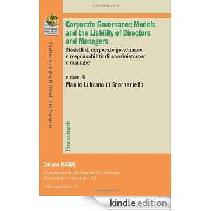 Corporate governance models and the liability of directors and