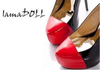 Lady Womens Platform Pumps High Heels ankle Shoes ladyshoe2