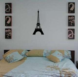 Eiffel Tower Paris France Art Decor Wall Vinyl Decal