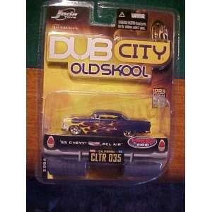 55chevy Bel Air Dub City Old Skool Jada Toy: Toys & Games