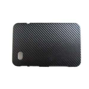 Samsung Galaxy Tab Hard Cover Woven Leather   Color Black