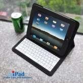 Sac de cuir pour iPad avec Clavier
