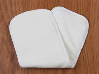 FQ BAMBOO BABY Cloth INSERT LINER WHITE for Cloth Diaper