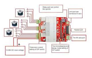 CNC Engraving Machine TB6560 3 Axis 3.5A Stepper Motor Driver Board