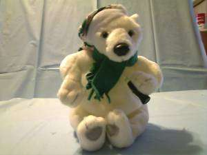COCA COLA 1999 POLAR BEAR BEANBAG BEAN BAG PLUSH TOY