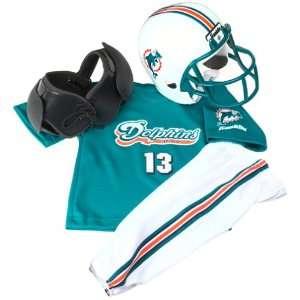 NFL Miami Dolphins Franklin Sports Kids Team Uniform Set, Medium (Ages