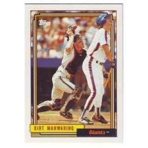 1992 San Francisco Giants Topps Baseball Team Set Sports