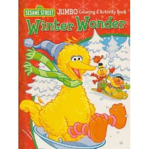 Sesame Street Christmas Jumbo Color & Activity Book