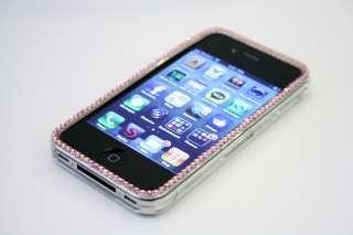 Rose Swarovski Rhinestone Apple iPhone 4 Case Verizon