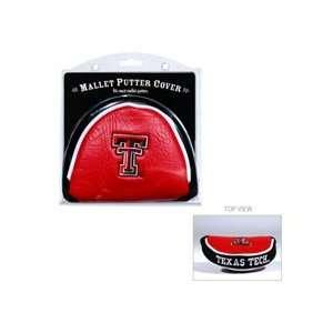 Team Golf NCAA Texas Tech   Mallet Putter Cover Sports