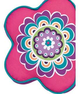 Girls Purple Flower Bedspread Bedding Set Full Queen 3p