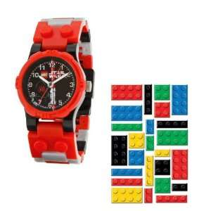 Lego Star Wars Darth Maul Kids Watch with Darth Maul Toy and Lego