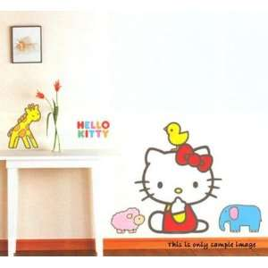 Hello Kitty Wall Decor Art Mural Point Sticker KS 58351