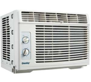 DANBY 5,000 BTU ECO FRIENDLY WINDOW AIR CONDITIONER DAC5110M **PICKUP