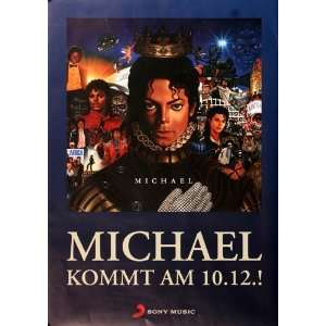 Michael Jackson   Review 2010   CONCERT   POSTER from