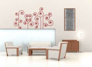 ROMANTIC FLOWER SET   Wall Decals Stickers Home Decor