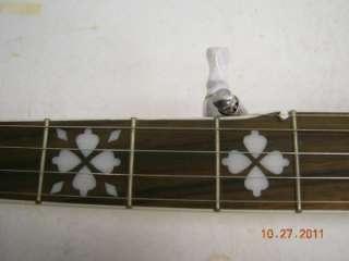 Morgan Monroe ROCKY TOP 5 String Banjo w/ Custom Hard Shell Case Left