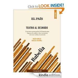 Teatro al desnudo (Spanish Edition): ROCÍO GARCÍA, MARCOS ORDÓÑEZ