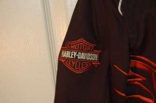 BEAUTIFUL Harley Davidson Motorcycle Screamin Eagle Jacket XL