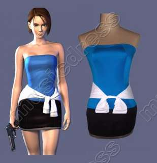 Resident Evil 5 Jill Valentine cosplay costume promotio