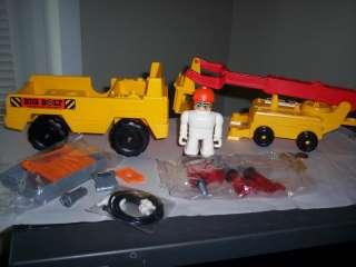 1981 Tomy Big Bolt Construciton Set #5005 Crane Tools
