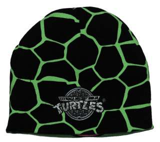 Teenage Mutant Ninja Turtles TMNT Leonardo Face Reversible Knit Hat