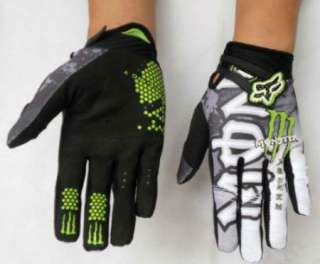 New Motorcycle Cycling Bike Monster Bicycle Sports Full Finger Gloves