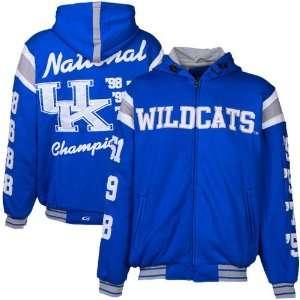Kentucky Wildcats Royal Blue NCAA Division 1 Basketball 7X