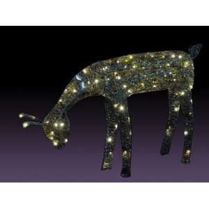54 031 001 Mosaic Doe Lighted Lawn Decor 25 Patio, Lawn & Garden