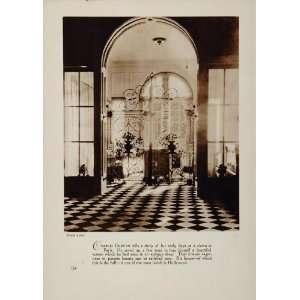 1933 Charlie Chaplin Hollywood Home Interior Hall Print
