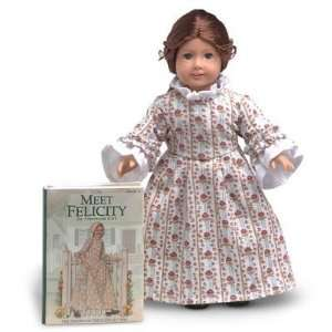 Girl Felicity Mini Doll and Book (Rose Garden Gown): Toys & Games