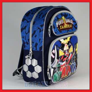 14 Power Rangers Samurai Sentai Backpack Bag Medium