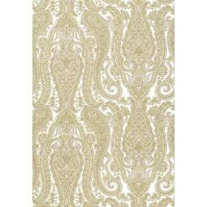 Isabella Paisley Sandstone by F Schumacher Wallpaper: Home